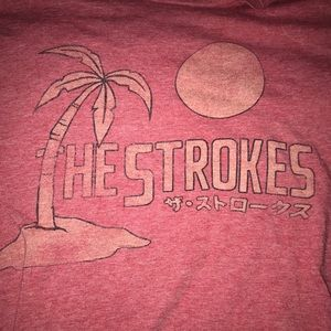 The Strokes tee